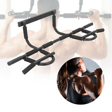 Door Bars Chin Up Bar Gym Fitness Pull Up Strength Sit up Dips Exercise Workout
