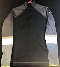Nike Pro Dri-Fit Womens Small Half Zip Athletic Pullover Sweater