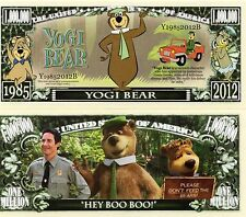Yogi Bear - Hanna-Barbera Movie/TV Character Million Dollar Novelty Money