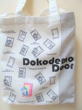 New listing Doraemon Canvas Tote Shoulder Bag Dokodemo Door