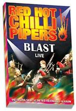 Red Hot Chilli Pipers Blast Live Scottish Bagpipes DVD FREE POST WITHIN UK