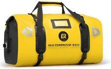 ROCKBROS Motorradtasche Motorrad Satteltasche Gepäckrolle 100% Wasserdicht Gelb