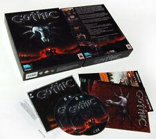 GOTHIC 1 ♦ piranha byte 2001 ♦ PC Spiel, game, Erstausgabe komplett in Big Box