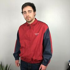 Vintage Ralph Lauren Chaps Windbreaker Red and Navy XL Jacket