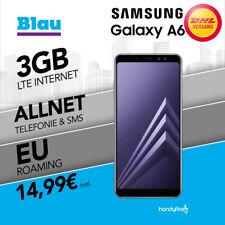 Samsung Galaxy A6 Dual- SIM im Blau Vertrag 3GB LTE Nur 14,99€ monatlich