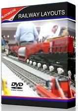 Model Railway. Layouts Track Plans Build Design  CAD Hornby OO Gauge Download