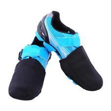 2Pcs Unisex Black Bicycle Cycling Shoe Toe Cover Bike Prot Overshoes Warmer O9C7
