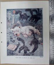 BONZO DOG ORIGINAL PRINT FROM THE SKETCH  G. STUDDY SUCH STUFF AS DREAMS LOT 7