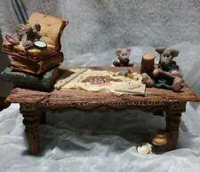 Boyds Bears Noah's Genius at Work Table - Original box