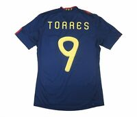 Spain 2010-11 Authentic Away Shirt Torres (Excellent) S Soccer Jersey