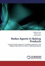 Redox Agents in Baking Products, Majlinda 9783838354880 Fast Free Shipping,,
