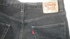 Levis 550 black jeans 34.32 cotton regular