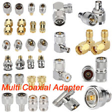 4X SMA N UHF BNC L29 Plug  Male to Female RF Connector Adapter Coaxial Cable