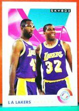 Magic Johnson / James Worthy card Teamwork 91-92 Skybox #471