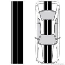 Universal 3M Vinyl Dual Rally Racing Stripes for any Car or Truck Decals