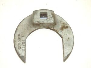 """MILITARY 3/8"""" CROWFOOT WRENCH S-20525 SIZE 1, 15/16"""" (2)"""