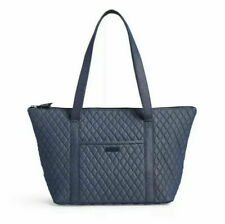 Vera Bradley Quilted Denim Carry On Travel Tote Moonlight Navy