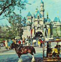 Disneyland Sleeping Beauty Castle Vintage Postcard Posted 1972 Color 5.5 x 3.5