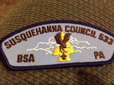 MINT CSP Susquehanna Council 533 T-11