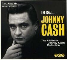 JOHNNY CASH - THE REAL JOHNNY CASH - 3CD SIGILLATO 2011