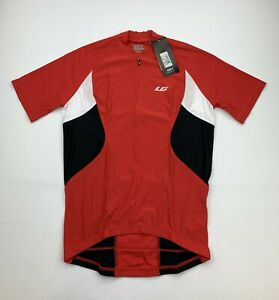 Louis Garneau Maillot Transit Jersey Red Size Men's Small New