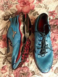 MIZUNO Wave Prophecy 2 Blue Running Sneakers Mens Size 13