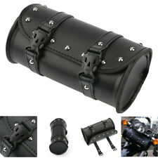 Motorcycle Handlebar Bag Motorbike Tool Bag Roll Pouch Outdoor Travel Storage
