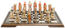 Studio Anne Carlton Chess Battle of Bannock Handpainted
