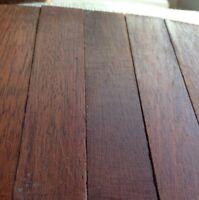Reclaimed Teak Wood Parquet Antique Flooring individual pieces X 5 Hardwood