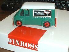REA Express Delivery Van '00 Texaco Sky Chief Gasoline Winross Truck