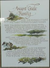 """Nolin """"Ancient Gaelic Blessin"""" Signed and Numbered 98/100 Limited Edition Print"""