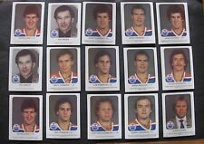 RED ROOSTER EDMONTON OILERS HOCKEY CARDS 1981-82 / LOT OF 15