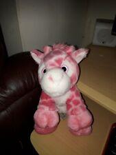 Keel Pink Giraffe Soft Toy