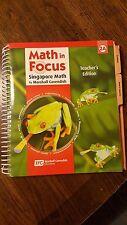 Math in Focus Singapore Math, Teacher's Edition 2A
