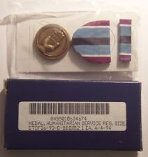 U.S. Humanitarian Service Medal Set in Box