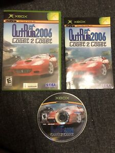 OutRun 2006: Coast 2 Coast (Microsoft Xbox, 2006) Complete With Manual! Minty
