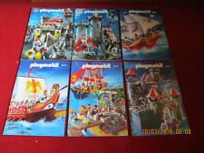Lot Catalogues Playmobil 2005 2006 2007 2008 2010 2011 chevaliers vikings pirate