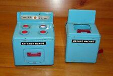 Vintage Tin Plate Washing Machine and Kitchen Range  (09152)