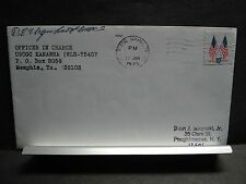 USCGC KANAWHA WLR-75407 Naval Cover 1975 Signed TENNESSEE