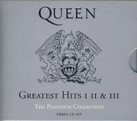 Queen - Platinum Collection (3CD Box Set Greatest Hits I/II/III)  SPEEDYPOST