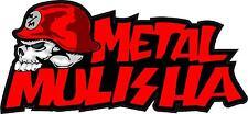 METAL MULISHA DECAL PAIR #3  Sticker, Truck Trailer Moto Car Window Wall Art