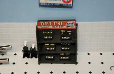 1/18 - DELCO BATTERY Display w/6 Batteries-KIT FORM for your shop/garage/diorama