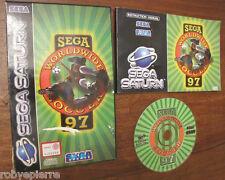 Sega Saturn 1996 worldwide soccer 97 MK 81112-50 sports videogioco vintage vendo