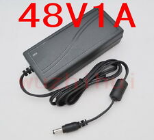 AC 100V-240V Converter Adapter DC 48V 1A 48W Power Supply Charger DC 5.5mm New