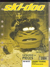 2000 Ski-Doo Grand Touring 700 / Se / Se Millennium Snowmobile Parts Manual
