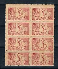 Bloque de 8 sellos con fuelles diagonal. Edifil 952**. 15 Euros