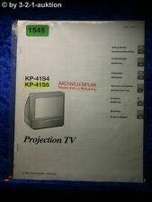 Sony Bedienungsanleitung KP 41S4 / 41S5 Projection TV (#1545)