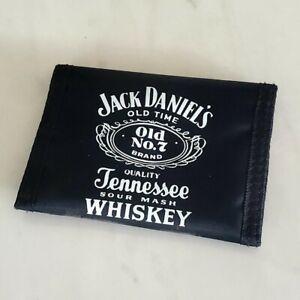 Jack Daniels - Bi-Fold - Black Nylon Wallet