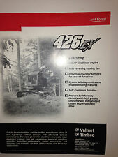 Timbco 425EX Tracked Forestry Carrier , Sales Brochure & specifications.