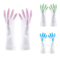 Kitchen Silicone Cleaning Gloves Magic Silicone Dish Washing Gloves For Hou Z9Z6